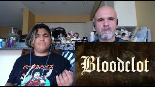 Bloodclot - Up in Arms (Lyric Video) [Reaction/Review]