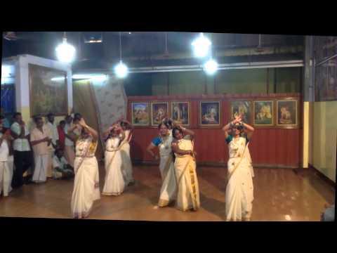 Onam 2014 Dance Programme: Aaha Inba Nilavinile