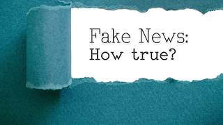 Fake News. How True? | An Event of the RTÉ Audience Council