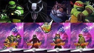 Teenage Mutant Ninja Turtles VS Power Rangers Ultimate Hero Clash 2 - part 2