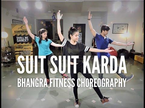 Suit Suit Karda | Hindi Medium | Easy Dance Steps | Bhangra | StepKraft