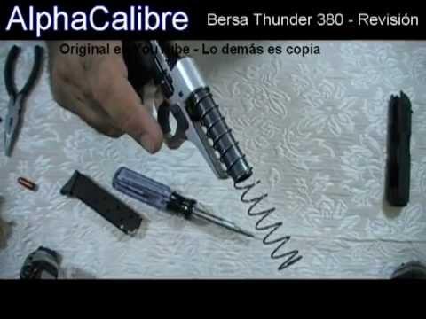 Bersa Thunder 380 Revisión