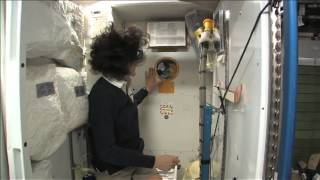 ISS Tour: Kitchen, Bedrooms & The Latrine | Video