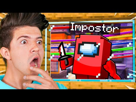 What s Inside the IMPOSTOR S Minecraft House