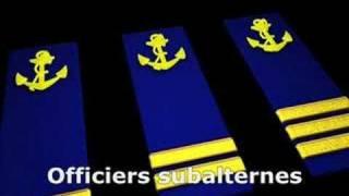 Grades Marine nationale française (ancienne version)