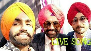 Tarsam jasser,Ammy virk and Ranjit Bawa Live song