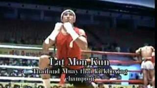 Myanmar lethwei(Lone Chaw) vs Muay Thai(Lat Mon Kun), 1/3