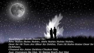Chand Chupa (Hum Dil De Chuke Sanam) Full Song With Lyrics HQ