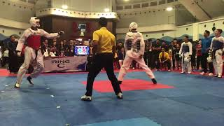Taekwondo Team Sparring-MSN Perlis vs Indonesia