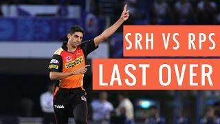 Last over thriller - SRH vs RPS - Highlights- Match 40 - Pune Supergiants vs Hyderabad IPL2016images