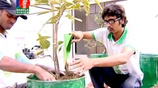 Green Savers Ahsan Rony Roof Garden Shamol Bangla