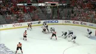 NHL: Flyers vs Sabres Game 1 4/14/11