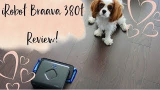 Product Review: The iRobot Braava 380t Mopping Robot