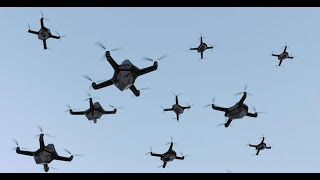 5G Internet of Things Drone Swarms Coming to USA