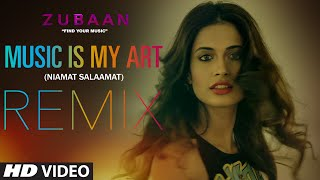 MUSIC IS MY ART (REMIX) Video Song | ZUBAAN | Vicky Kaushal, Sarah Jane Dias | T-SERIES
