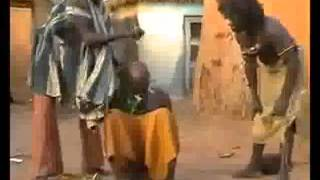 Funny African - Buschmänner comedy 2012