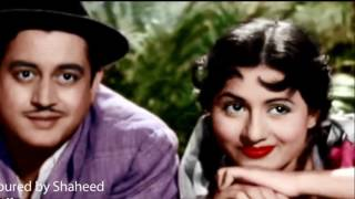 Madhubala Coloured  Photos of Mr & Mrs 55