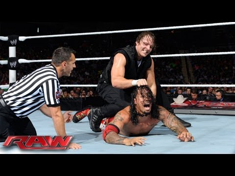 Christian & The Usos vs. The Shield: Raw, July 1, 2013