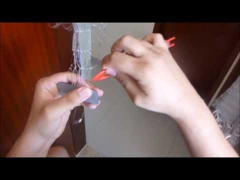 Como fazer tarrafa de pesca Tarrafa malha 30 pano de rede