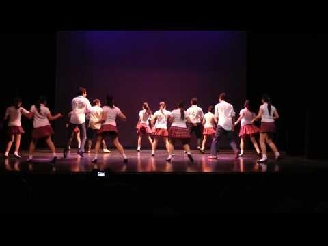 Esmeralda Jazz Bailando La Colegiala