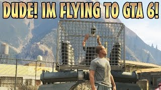 TRAPPING KID IN FLYING CAGE TROLLING! (GTA 5 Mods)