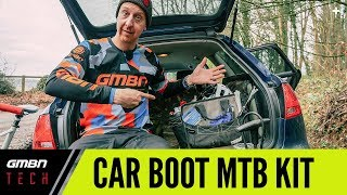 Car Boot MTB Kit | Mountain Bike Hacks For Your Car: Tools And Spares