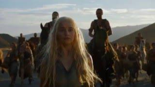 Game of Thrones Season 6 Episode 3 - Daenerys enters Vaes Dothrak