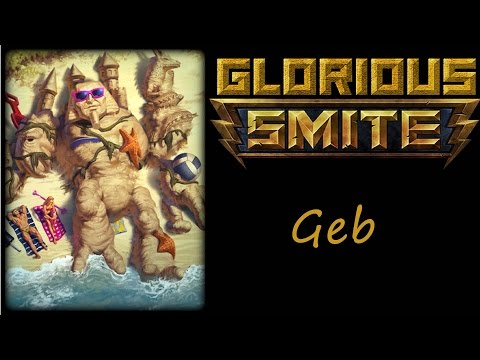 SMITE Geb damage build, boys! Geb Jungle! September 2015