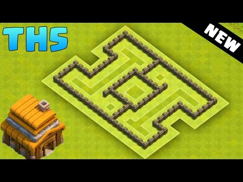 clash of clans town hall 5 hybrid base coc th5 best defense base