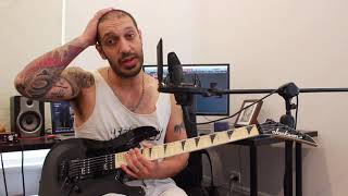 How to play 'Everytime I Die' by Children Of Bodom Guitar Solo Lesson w/tabs