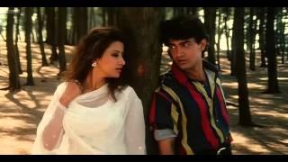 Raja Ko Rani Se pyaar hogaya HD 1080p song   Amir khan, manisha Koirala