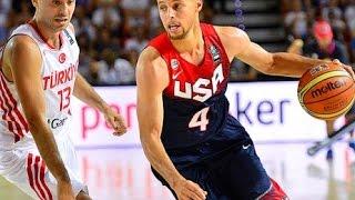 Basketball World Cup 2014 Turkey vs United States