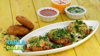 Khasta Kachori Chaat by Tarla Dalal / Diwali Party recipe