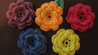 Download How to crochet a flower, part 1 3Gp Mp4