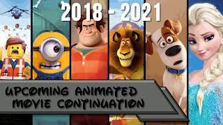 Upcoming Animated Movies 2018 - 2021