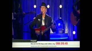 Lasse Sigfridsson gör TV-debut i BingoLotto 21/10 2012