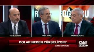 Doların yükselmesi Türkiye