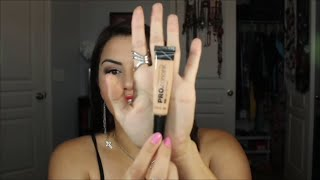 LA Girl Pro Conceal HD Concealer Review and Demo