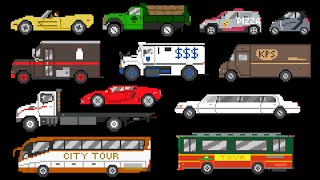 Street Vehicles 2 - Cars, Trucks & Buses - The Kids