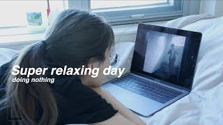 ENG) 자취일기 : 아무것도 안 하고 푹 쉬는 날 Super relaxing day doing nothing