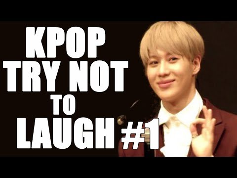 KPOP TRY NOT TO LAUGH FUNNY MOMENTS 1