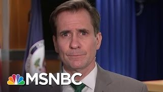 John Kirby Explains ISIS Genocide Designation | Andrea Mitchell | MSNBC