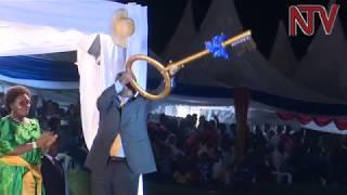 Annual 'enkuuka' celebrations at Mengo Palace draw thousands as Kabaka Mutebi opens 2018