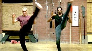 My Secret Kung Fu Kicks for Extreme Flexibility!