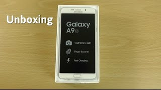 Samsung Galaxy A9 2016 - Unboxing & First Look! (4K)