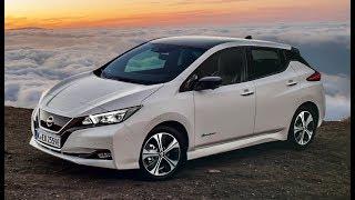 2018 Nissan LEAF Beauty Shots in Tenerife