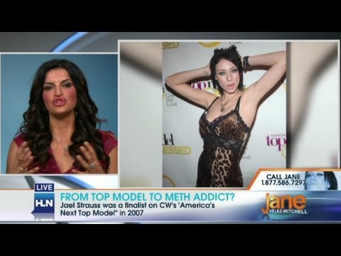 From top model to meth addict?