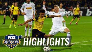 Borussia Dortmund vs. Monchengladbach | 2018 Bundesliga Highlights