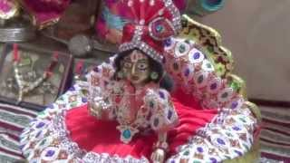 Laddu Gopal /Bal Gopal/ Thakur ji -taking bath and dressing up - complete information and steps