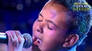 Brazil's got Talent  - JOTTA A - Faz Chover (makes it rain) (SUBTITLES)  HD (BRAZIL)